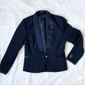 Black & Gold Blazer